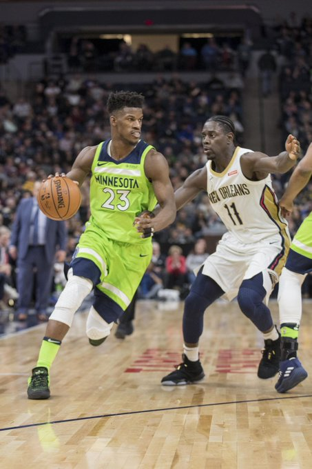 New Orleans Pelicans had extensive discussions with Minnesota Timberwolves on possible Jimmy Butler trade Photo