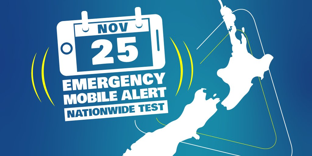 A nationwide test of the Emergency Mobile Alert system is happening on Sunday 25 November between 6pm and 7pm.  No need to sign up or download an app, just check the list to see if your phone is capable of receiving the alerts and your phone is up to date  http://www.civildefence.govt.nz/emergency-mobile-alert/ …