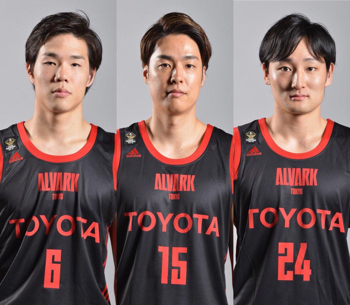 test ツイッターメディア - 🇯🇵お知らせ🇯🇵 11/30(金)、12/3(月)に富山市で開催される「#FIBA バスケットボールワールドカップ2019 アジア地区2次予選 Window5」に向けた日本代表第6次強化合宿のメンバーとして#6 馬場選手、#15 竹内選手、#24 田中選手の3名が選出されました‼️ #アルバルク東京  #AkatsukiFive #JBA #FIBAWC https://t.co/u6ZH5bSlM7