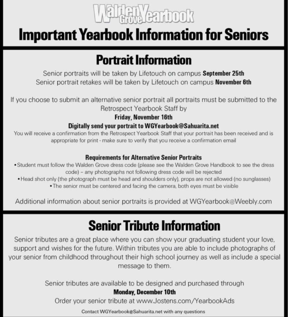 WGHS Yearbook on Twitter: