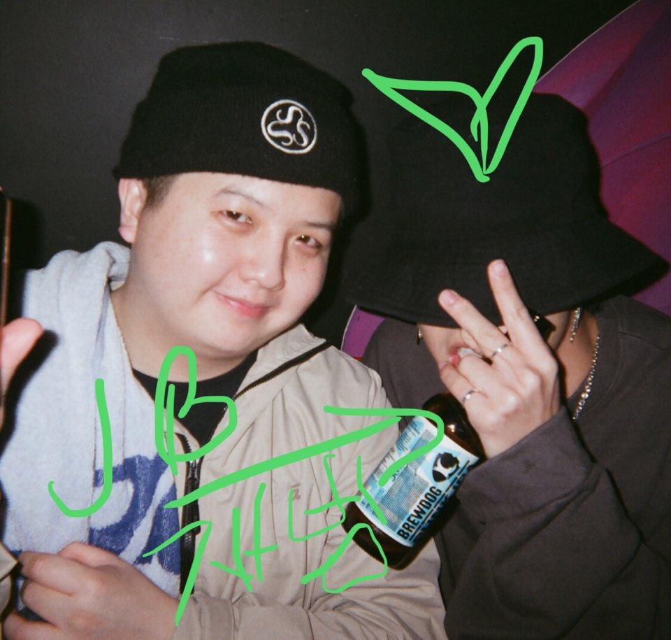 Jaebeom in the club.