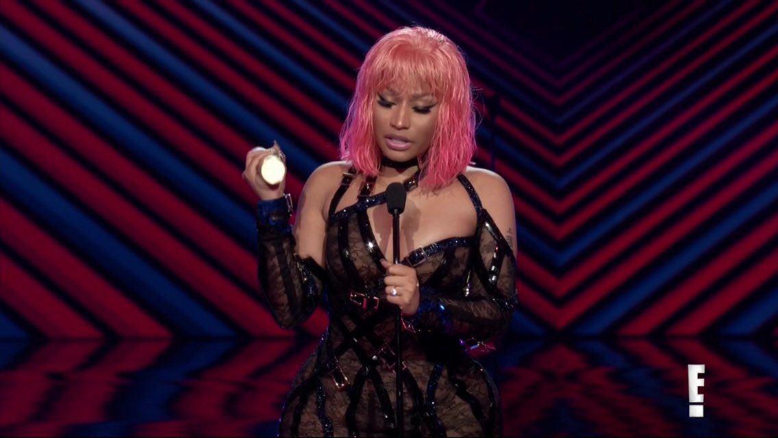 Another One! Nicki Minaj Wins The #PCAs Album of 2018 For 'Queen' https://t.co/PEj5NZCPW3 https://t.co/Zh40eCtAbo