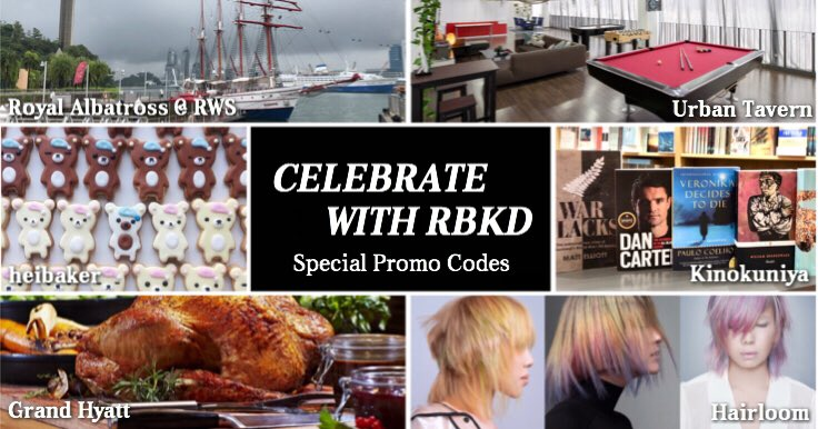 RBKD – Celebrate with RBKD: Special Promo Codes Just For You