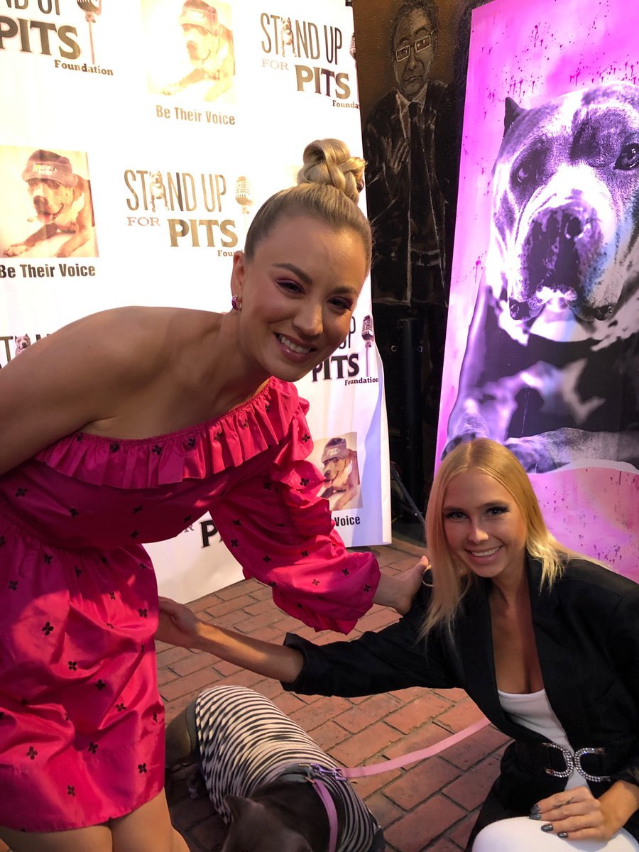 test Twitter Media - And my 5th red carpet this week! #StandUpForPits event :)  Was so awesome to meet #KaleyCuoco at the red carpet tonight! What an amazing person 💖  @StandUpForPits #actress #actors #redcarpet #hollywood #celebrity #party #singer #model https://t.co/PtNaIFswFV