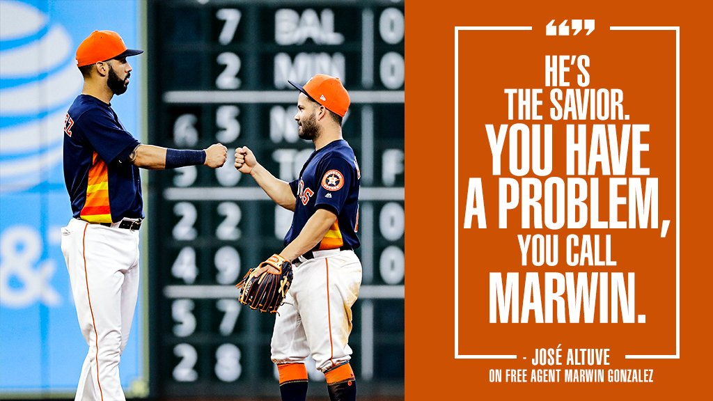 Marwin González can do it all.   Where will he land?