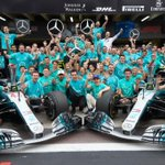 Congratulations to the @MercedesAMGF1 team on winning their fifth consecutive Constructors' Championship title at the #BrazilGP! Through the power of teamwork, there is no limit to what can be achieved. Amazing job @LewisHamilton and @ValtteriBottas! #DrivenByEachOther