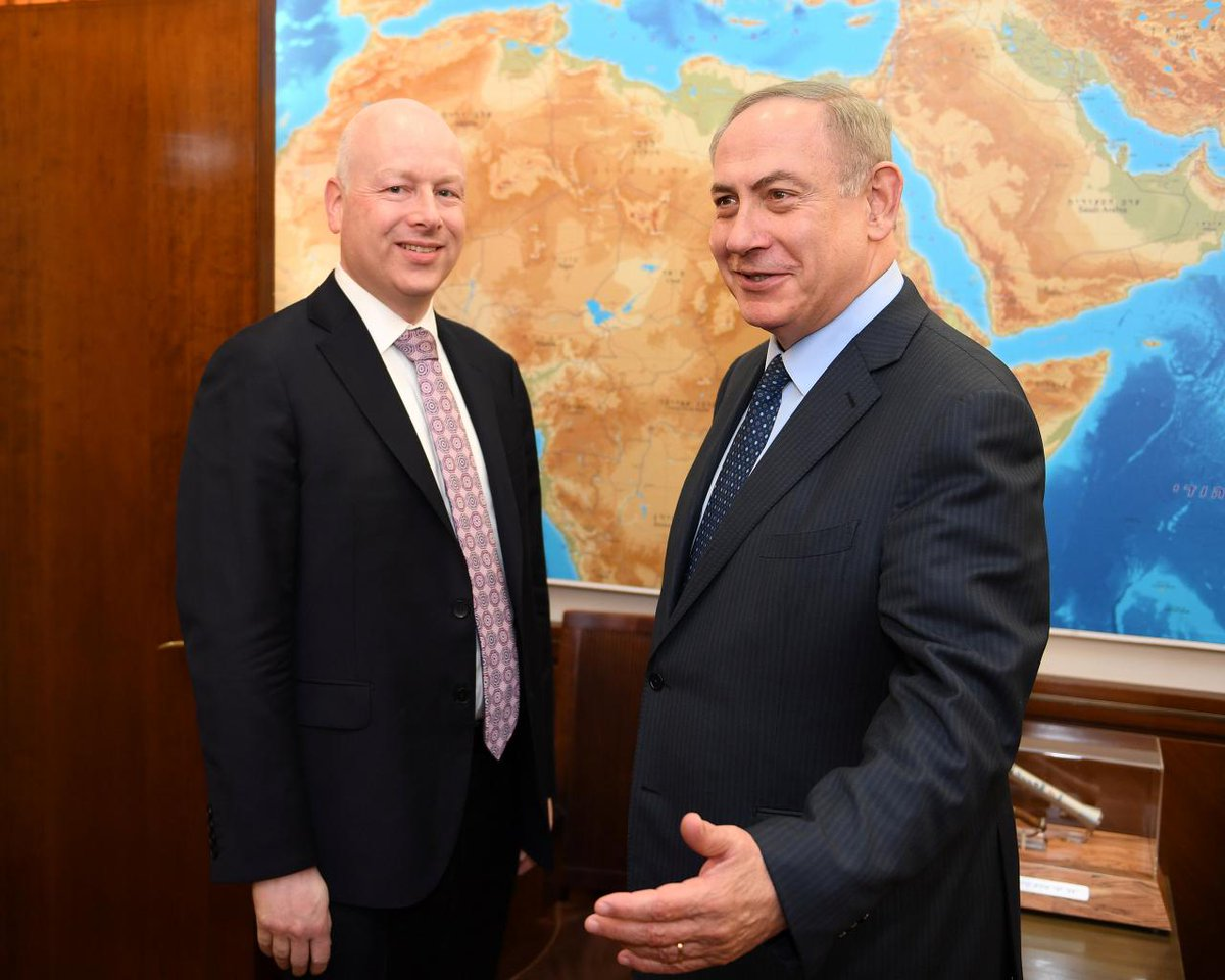 #Greenblatt: Israelis, #Palestinians Will Have to Compromise https://t.co/3Zpqvv5sbP
