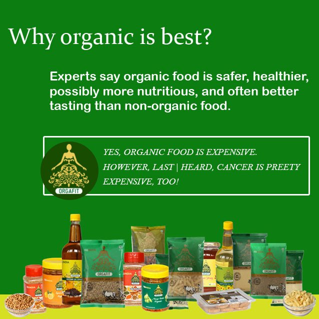 Orgafit On Twitter Experts Say Organic Food Is Safer Healthier Possibly More Nutritious And Often Better Tasting Than Non Organic Food Download Our App To Buy Organic Products Https T Co Lh7jfnibbc Https T Co 73rndtfp3j