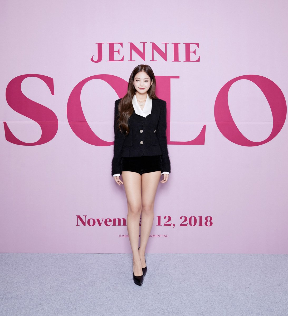 "Download Jennie Solo Ilkpop: Kpop Spain On Twitter: ""[#FOTOS] 181112 Conferencia De"