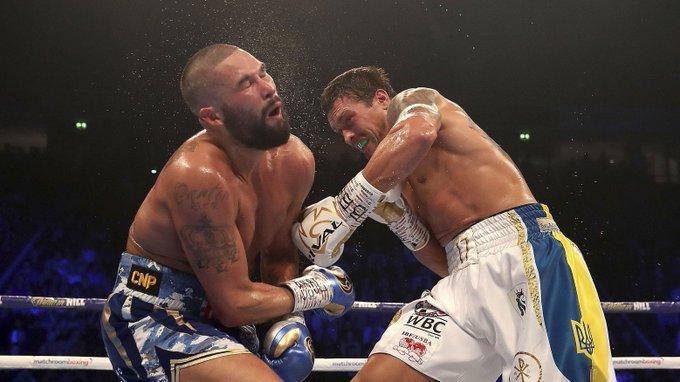 Usyk KOs Bellew, retains cruiserweight titles - Photo