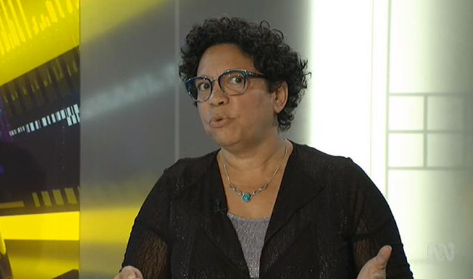 """Why would they have such emotional investment in attacking you, for taking a legal course of action which is your right in our democracy, to not only to ensure that your daughter, who is 9 at the time, feels like she can access a service."" @DrSRP1 #auspol #TheDrum Photo"