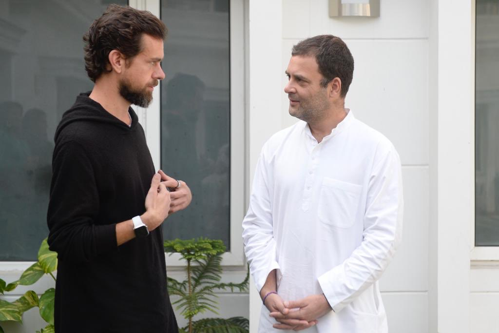 """Jack Dorsey, the Co Founder & CEO of Twitter dropped in to chat this morning. Twitter has grown into the most dominant """"conversations"""" platform globally. Jack explained some of the steps being taken to keep those conversations healthy & to tackle the menace of fake news. @jack"""