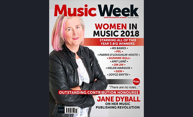New edition of Music Week out now featuring all the winners at the #WomenInMusic Awards https://t.co/Z042SsqFcB https://t.co/mv8Q6GgqA5