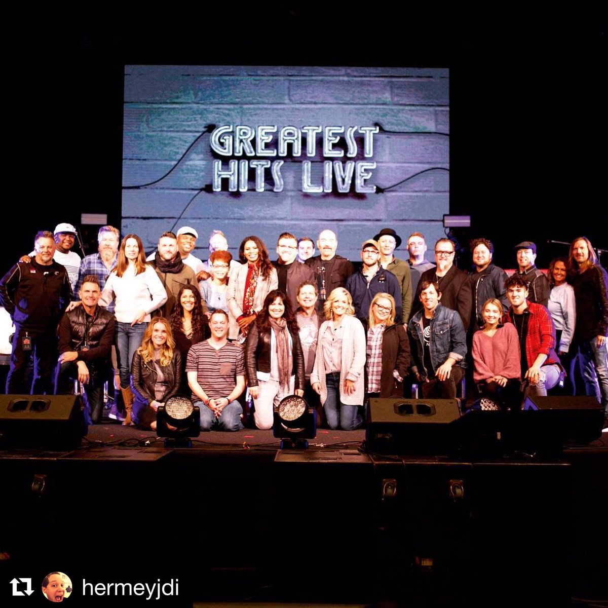 4419cdb7e80c0 ... of Greatest Hits Live Tour. Truly a pleasure to be out with you and   nicoleCmullen Point of Grace... Rebecca St James ....Carlisle and the  entire band ...