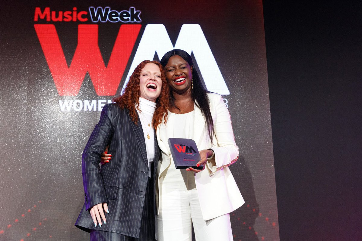 Perfect moments: The best bits of the Music Week Women In Music Awards 2018 musicweek.com/media/read/per…