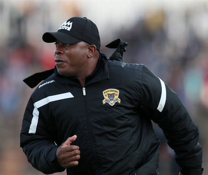 Joel Masutha has been fired as Black Leopards coach with immediate effect. #AbsaPrem Photo
