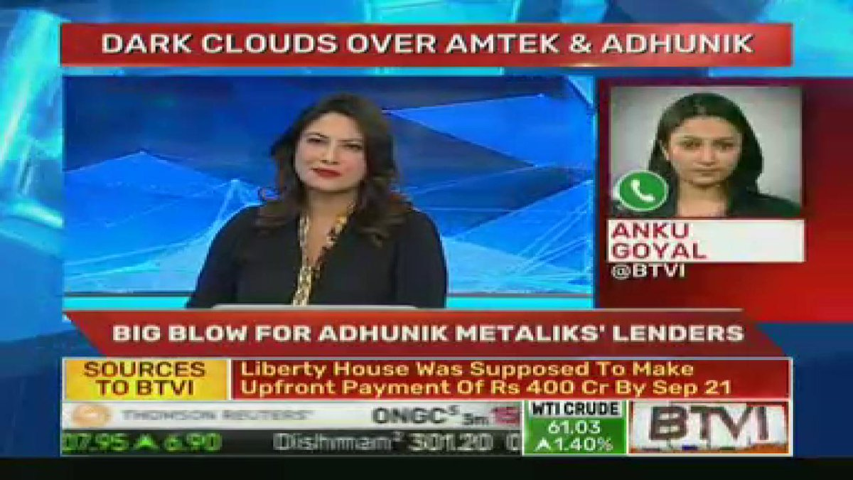BTVI Live On Twitter Sources To Lenders Move NCLT Kolkata Direct Liberty House Pay For Adhunik Metals Was Supposed Make