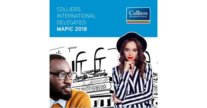 Über 70 Retail-Experten aus 22 Ländern weltweit - das ist Colliers International auf der #Mapic2018 . Finden Sie in unserem Delegate Book Ihren persönlichen Kontakt in #Cannes:  t.co/H9J1K5b1ug