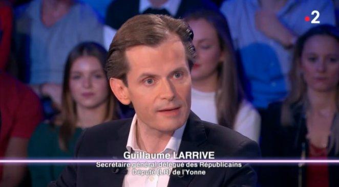 ONPC : Guillaume Larrivé estime que Fillon a été le boulet de la droite Photo