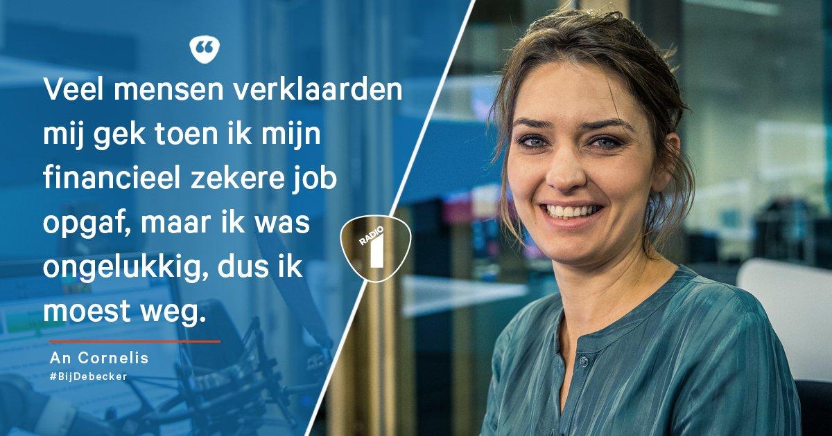 RT @radio1be: Een carrièreswitch is niet makkelijk, vertelt An Cornelis #bijdebecker: https://t.co/WYgaaA7vbi