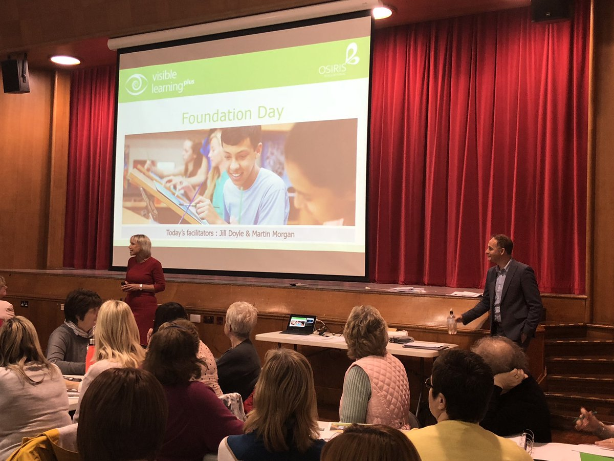 Welcome back @jilldoyle_jd - Excited to begin our #brochvisiblelearning journey with @RoseheartySch