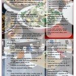 Image for the Tweet beginning: This week's menu in The