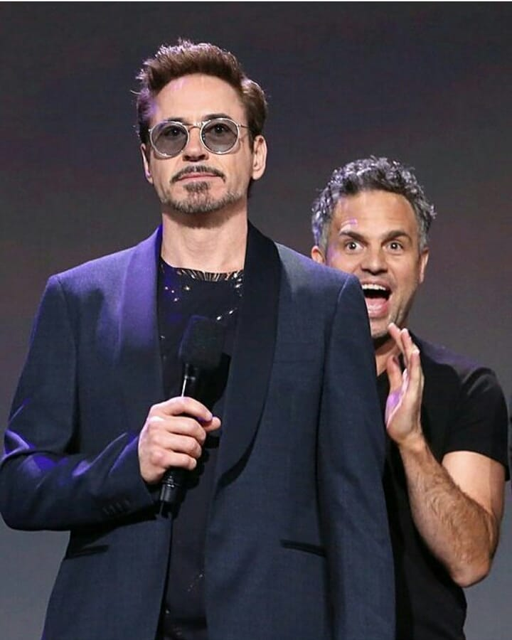 Happy Monday! Are you feeling more like me or @robertdowneyjr today? #ScienceBros