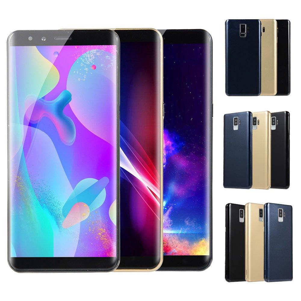 "S9 Big Screen 5.7"" Dual SIM Smartphone Android 6.0 Mobile Phone GPS WIFI UK..."