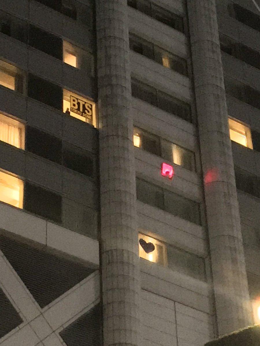 東京ドームホテルに貼ってあった?