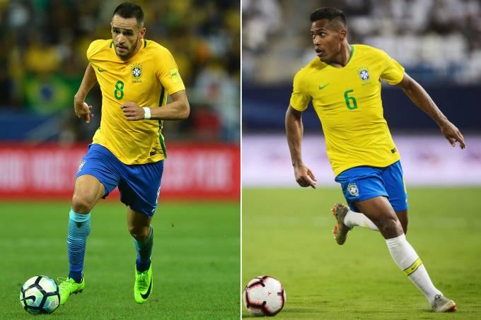 Alex Sandro e Renato Augusto substituem Marcelo e Coutinho na seleção https://t.co/OMeKltcnsZ
