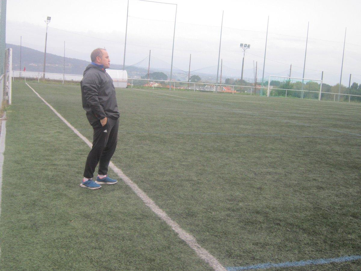 ADR Numancia de Ares. Migule Carballeira entrenador del equipo de Aficionados. Valoración de la primera fase de la competición, Temporada 2018-2019