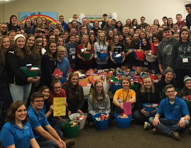 Great to be a part of the @IndianaFFA FIRE program this weekend! Leadership skills developed and a heart for serving our communities. 80 families will be supported by these students and Ceres Solutions.