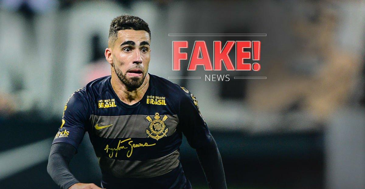 Fake news: Gabriel, do Corinthians, não tatuou 'Benedetto' no pescoço depois de eliminação do Palmeiras https://t.co/lPSmy4wYqf