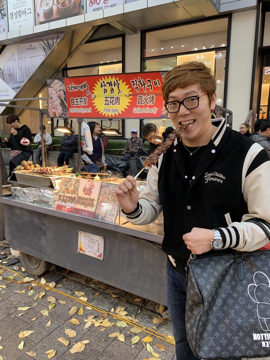 弾丸日帰り初韓国、最高でした??ソウルは日本語も通じることが多かったり、屋台の食べ物も美味しくてテンション上がりました?特に芋が激ウマでした?