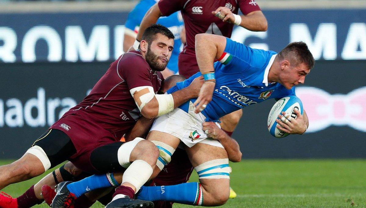 🇮🇹 International News  @JakePolledri impresses as Italy beat Georgia in Florence  Round up 👉🏽 https://t.co/dTDqgUoNLD