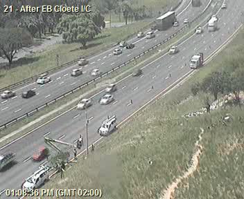 (Ongoing) Field Device Maintenance: N2 Southbound after EB Cloete I/C; Left lane closed; Drive Carefully Photo