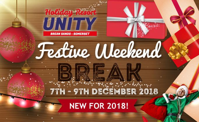 """Holiday Resort Unity's tweet - """"What better way to get in the festive spirit than our NEW 2018 Festive #Christmas Break. A great opportunity for a ..."""