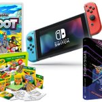 WIN: This Nintendo Switch Console, the Crayola Shoot game.  ENTER: FOLLOW and RT this.  Then reply/tag someone who'd like my book on healthy creative gaming (https://t.co/U3G119VstJ).  WINNER: Picked at random on 30 November.  #Comp #Crayola #Switch #Promotion