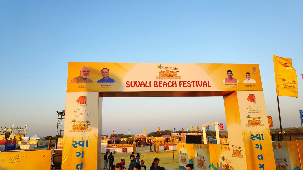 One dead, two rescued from sea during Suvali beach festival in South Gujarat
