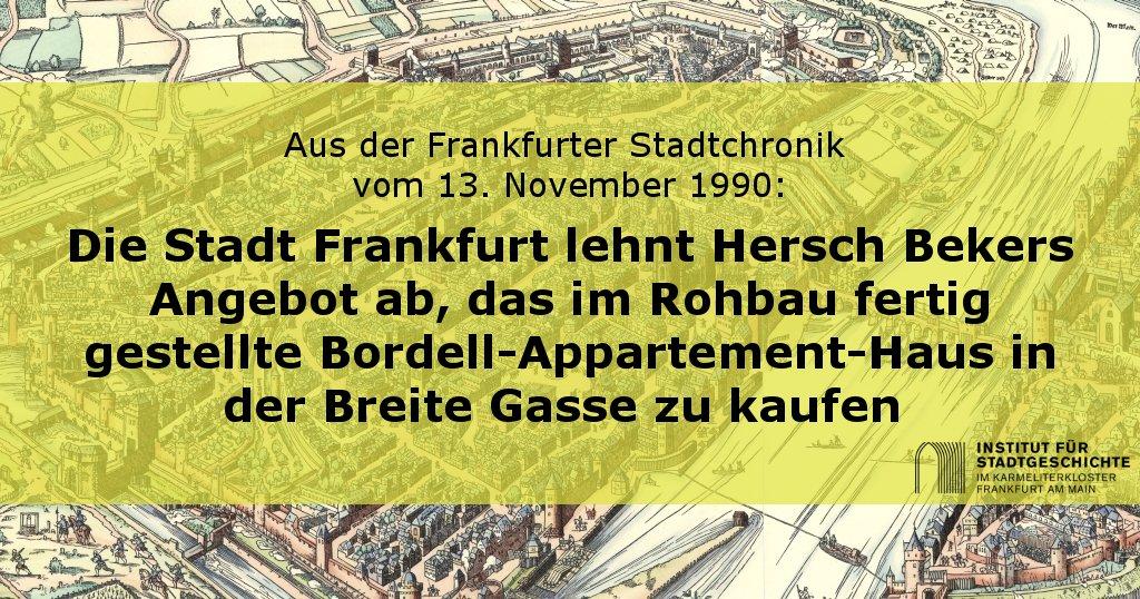 Gasse 9 frankfurt 7 breite BG_OT Linkliste