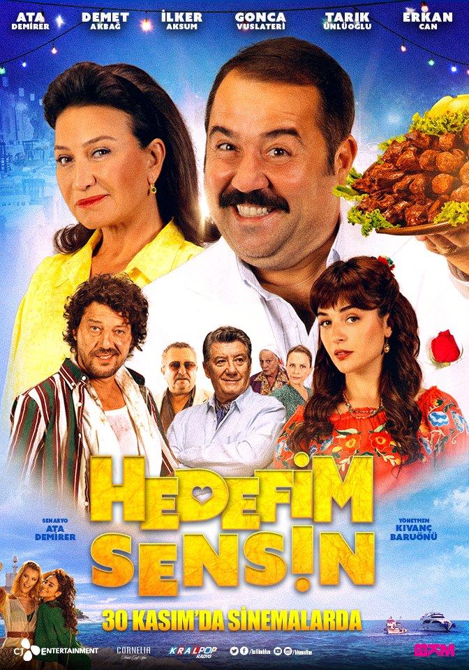 İsmi Zekeriya soyadı Taştan, çig köfteyi yoğurdu aşklan! #HedefimSensin 30 Kasım'da sinemalarda 🤩