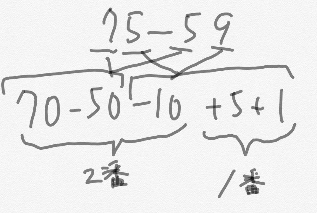 さくらんぼ 計算 引き算
