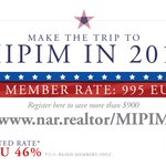 Why attend the 30th Annual @MIPIMWorld Conference?• 26,000 Participants • 5,400 #CRE investors • 3,800+ CEOs & C-level pros • 3,100 exhibiting companies • 360+ speakers • 100 countries • 46%-off on registration w/ NAR's member discounthttps://t.co/u7uYAeJUAe