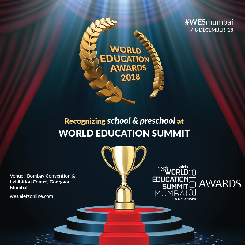 test Twitter Media - Nominate your school or preschool to get recognised at 13th World Education Summit Mumbai - The Biggest Platform on Innovation in Education  #Education #Schooleducation #WESmumbai  For more details, visit: https://t.co/yRl3nrIHQX  @eletsonline @chandananand26 @dubeyashutosh79 https://t.co/Xn8ZRqkw0b