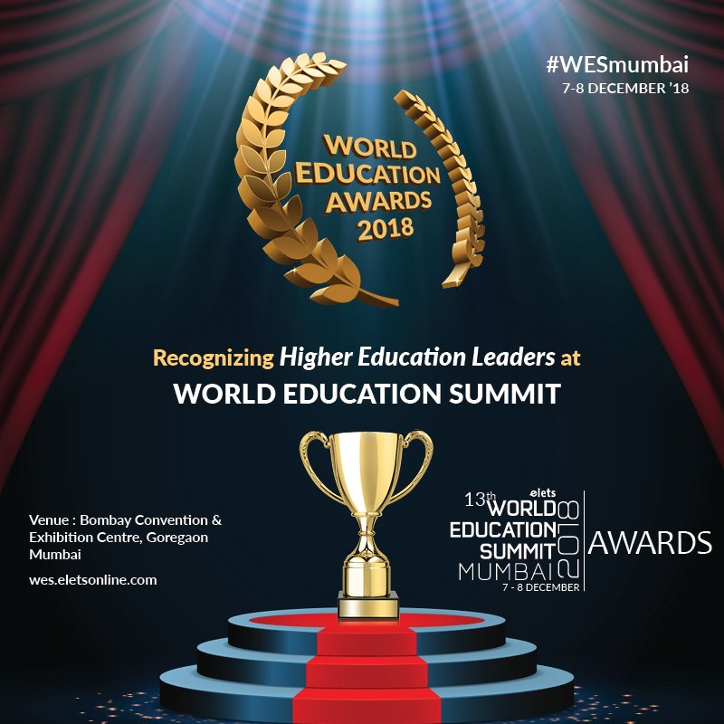 test Twitter Media - Nominate your Higher Education Institute or University to get recognised at 13th World Education Summit Mumbai - The Biggest Platform on Innovation in Education  #Education #Highereducation #WESmumbai  For more details, please visit: https://t.co/yRl3nrIHQX  @eletsonline https://t.co/mQECKI15Ok