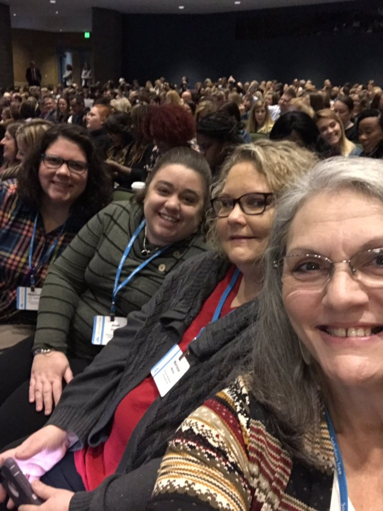 A great reason to #celebratemonday this crew from @PinewoodTitans at the @SolutionTree #atplc