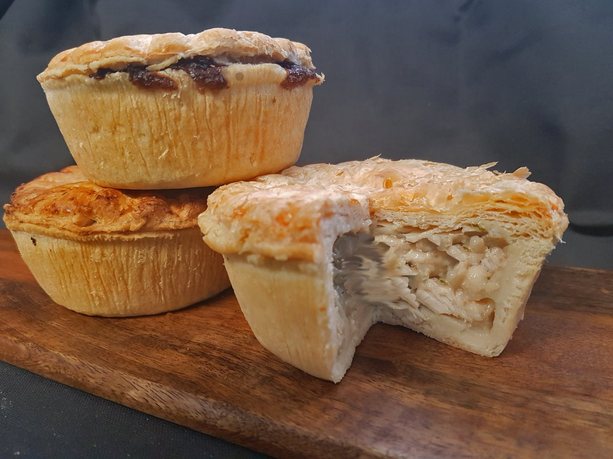 test Twitter Media - Our Trio of Regal Pies include Chicken & Mushroom, Minced Beef & Onion and Steak & Kidney 😍😍 Which would you choose? #pie #chickenandmushroom #mincedbeefandonion #steakandkidney #lewispies #swansea #pastry #pielovers #foodie #chicken #steak #kidney #mincedbeef #chipshop #chippy https://t.co/nlOfN44FdZ