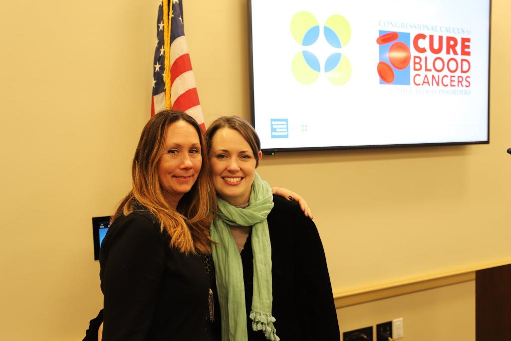 #MondayMotivation This donor-recipient pair traveled to meet each other for the first time in DC and share their powerful story with Congress. Read more about Kate and Kyndess here:ms.spr.ly/6011rCsWh