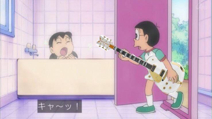 キャ〜ッ!のび太さんのグレッチ〜!