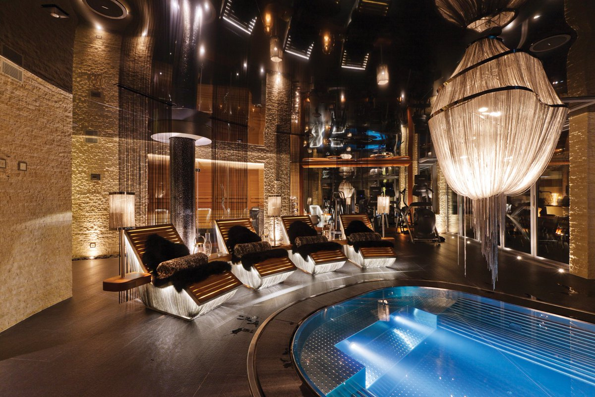 Ultimate Chalets On Twitter The Wellness Area In Zermatt Peak Is